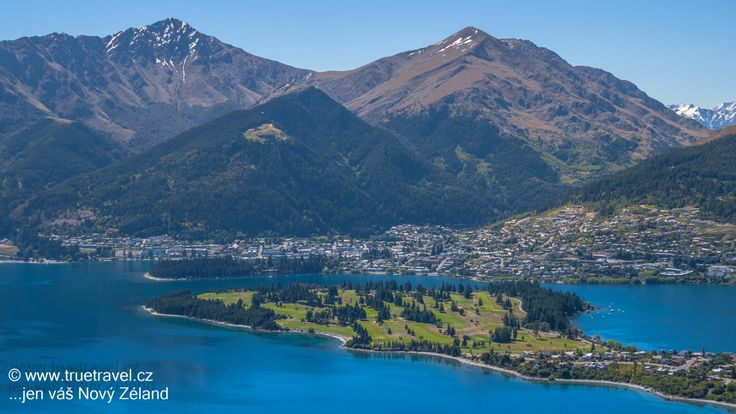 Golfové hřiště v Queenstown, golf na Novém Zélandu #NewZealand #cestovani #travel