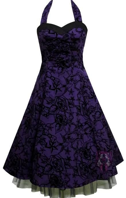 black and purple is Heavenly! WOW! I LOVE these 2 colors together & with this dress is Stunning!!..K♥