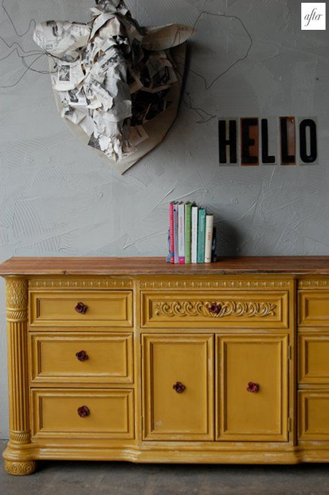 Gold Painted Buffet Buffets Sideboards Pinterest