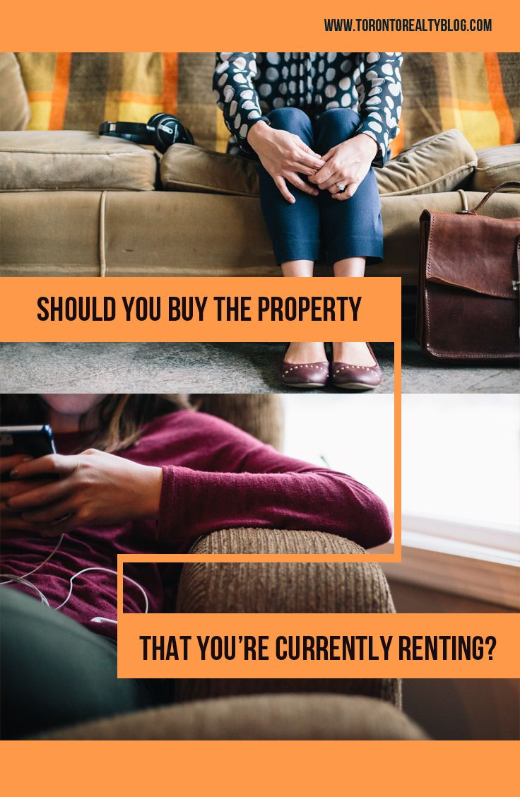 """Should You Buy The Property You're Currently Renting?  If you're renting a property, and the landlord tells you he or she is going to sell it, do not have a knee-jerk reaction and immediately think, """"I have to do everything in my power to buy this place.""""  Believe it or not, that's what most people do…  #renting #buyingahome #realestate"""