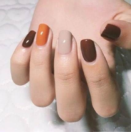 62 ideas for nails acrylic fall autumn nails  fall nail