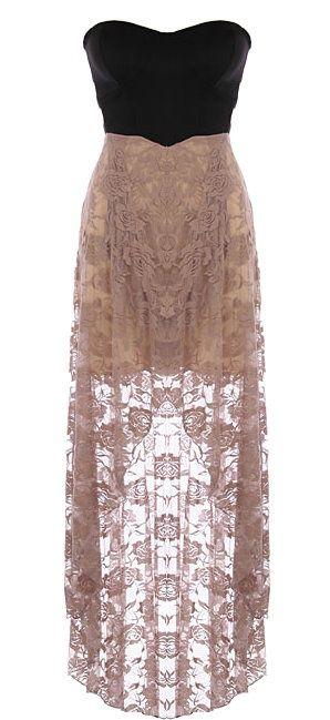 Chantilly Maxi Dress. mine. mine. MINE. oh pretty please?