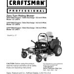 craftsman lawn mower parts indianapolis