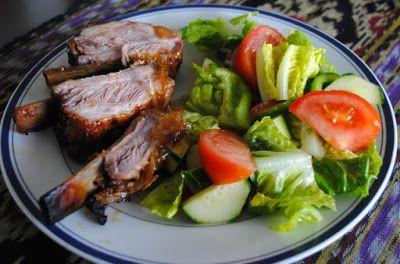 Невыразимая легкость кулинарного бытия...: Свиные ребрышки с бурбоном