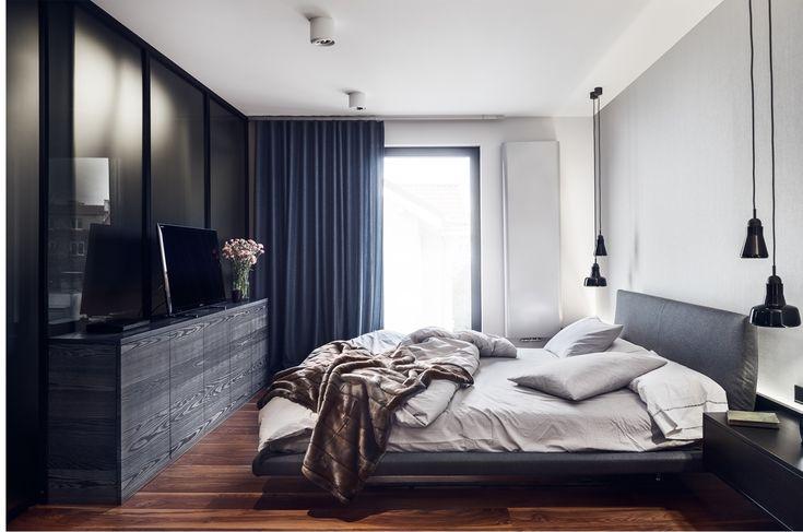 Bedroom designed by studio Potorska