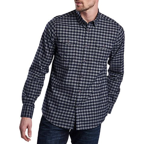 Buy Barbour International Ratchet Long Sleeve Shirt, Navy Online at johnlewis.com