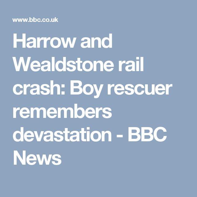 Harrow and Wealdstone rail crash: Boy rescuer remembers devastation - BBC News
