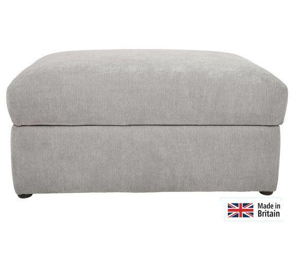 Buy Heart of House Eton Fabric Storage Footstool - Charcoal at Argos.co.uk, £150
