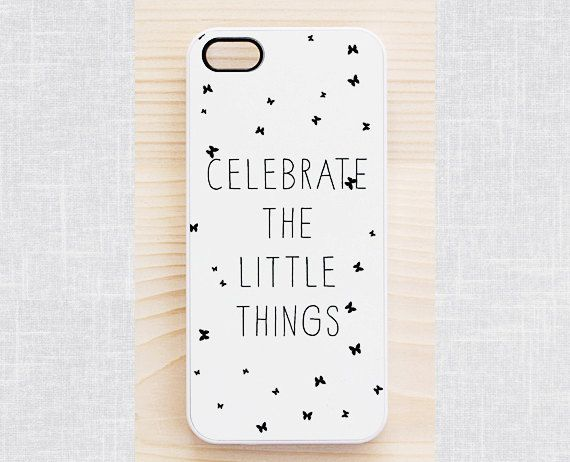 Quote iPhone 5 case, quote iPhone 5S case, hipster iPhone 4 case, white iPhone 4S case - inspirational quote, hipster font - Samsung S4 & S3...