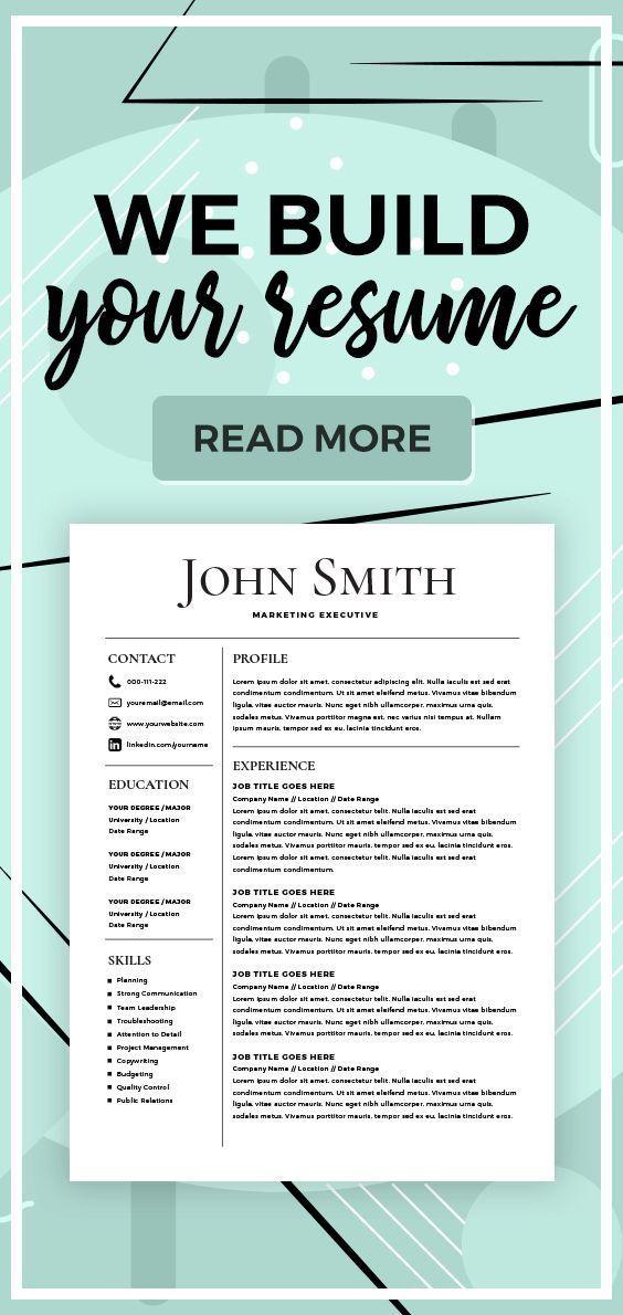 Resume Builder Create a Resume Resume Services Make
