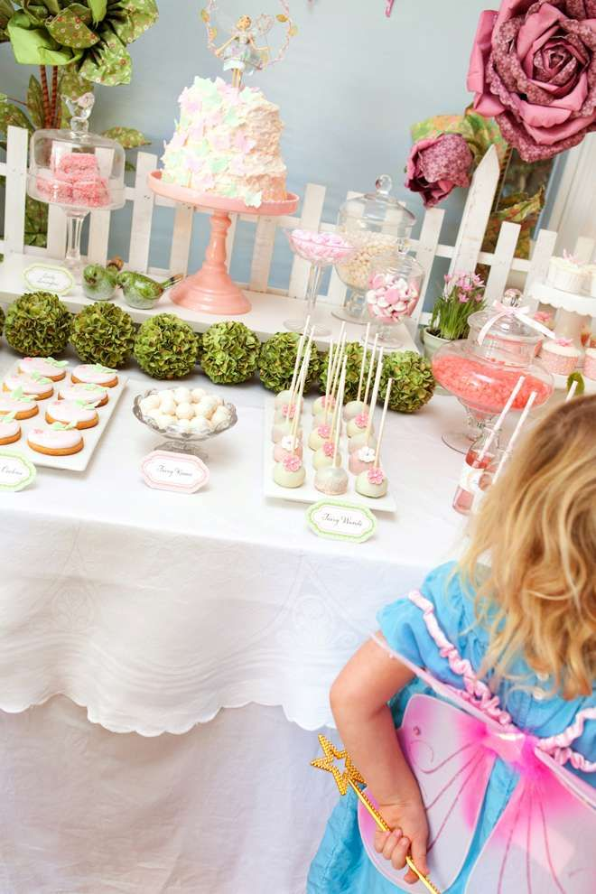 Fairy Garden Party Birthday Party Ideas   Photo 15 of 15   Catch My Party