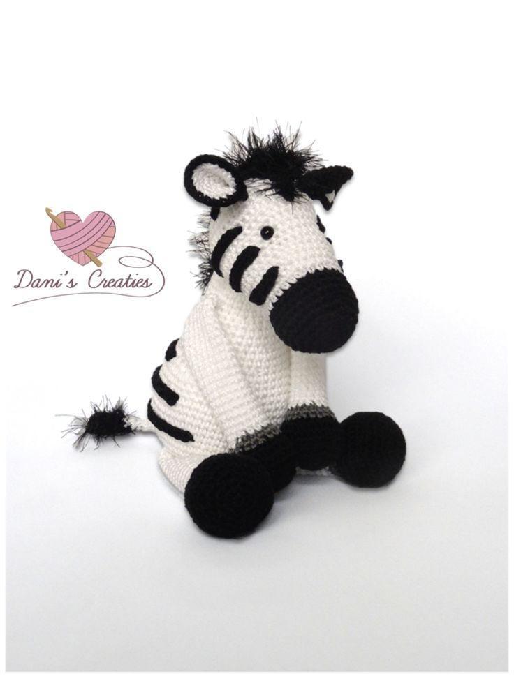 Kijk wat ik gevonden heb op Freubelweb.nl: een gratis haakpatroon van Dani's Creaties om een zebra knuffel te haken https://www.freubelweb.nl/freubel-zelf/gratis-haakpatroon-zebra-2/