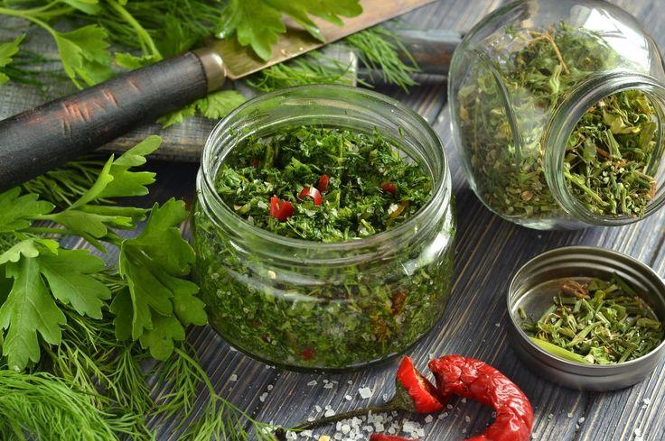 Как сохранить зелень для супа и салата на зиму? 3 способа. Пошаговый рецепт с фото - Ботаничка.ru