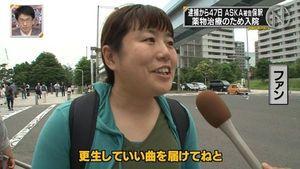 別のTV局のインタビューを受けているんですね!