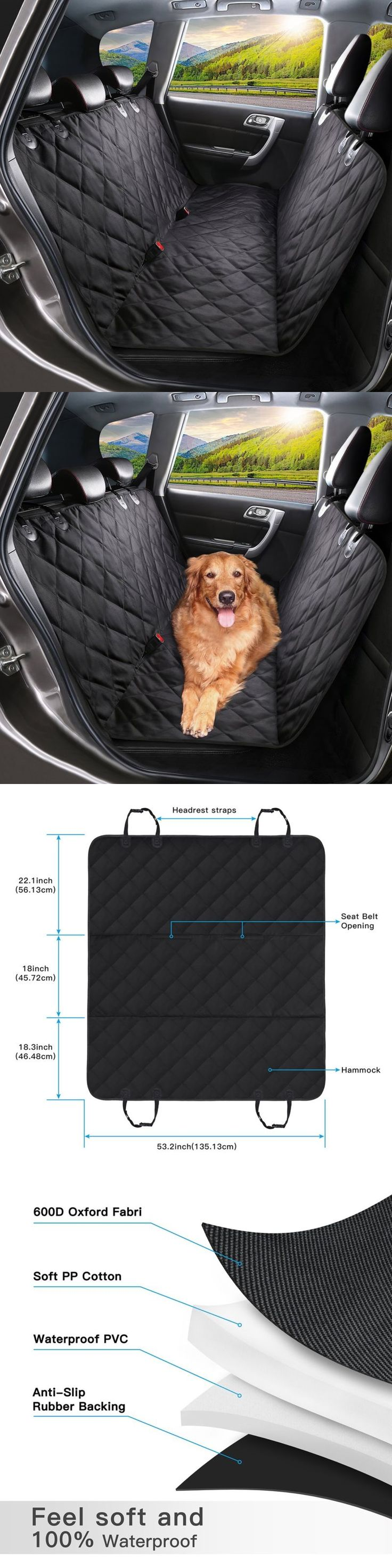 Car Seat Covers 117426: Pet Seat Cover Dog Car Seat Covers Nonslip Backing Waterproof Scratch Proof Cat -> BUY IT NOW ONLY: $36.5 on eBay!