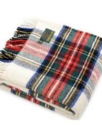 Jura Tartan Travel Rug Pure New Wool 743