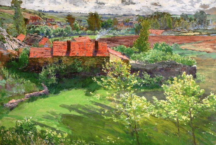 ANTONÍN SLAVÍČEK (1870-1910) Summer