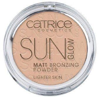 Catrice cosmetics sun glow matt bronzing powder