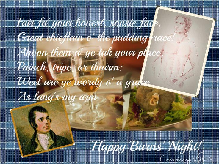 La autentica Oda al Haggis de Robert Burns. Robert Burns' real Ode to a Haggis
