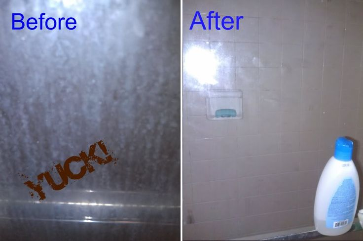Keeping a Glass Shower Door Clean for 6+ Months - Serendipity and Spice #cleaning #household #tips #tricks