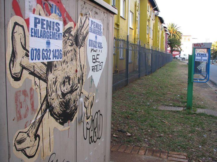 Word on the 5treet Artists'. Sindiso Nyoni X Alphabet Zoo Location. Johannesburg, South Africa