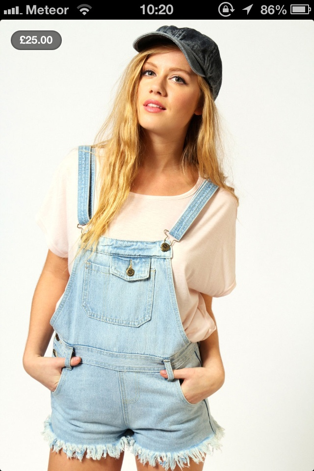 All about the dungarees