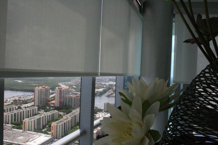 Screen 5 % Roller Shades Motorized