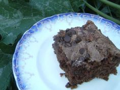Chocolate Sourdough Zucchini Cake | Tasty Kitchen. This is one of the most solid chocolate cakes I've had, period.  Next time I'll experiment with substituting applesauce for some of the fat.