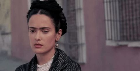 New trendy GIF/ Giphy. movie whatever ugh eye roll salma hayek latina frida kahlo frida latinawomen frida movie. Let like/ repin/ follow @cutephonecases