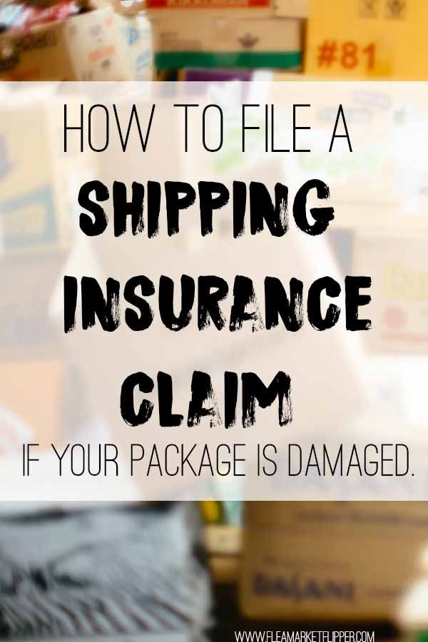 How To File A Shipping Insurance Claim If Your Package Is Damaged