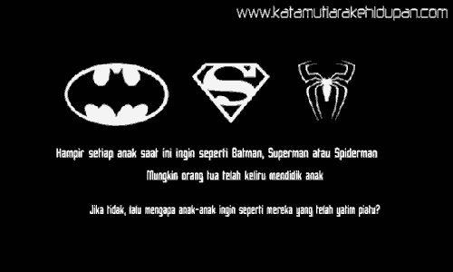 Kata Mutiara Lucu Batman