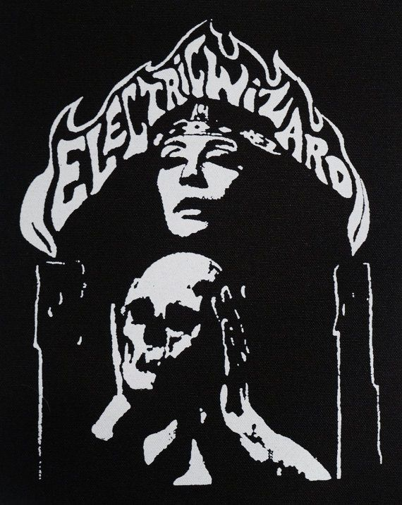 Electric Wizard backpatch by CarpathiaPrints on Etsy