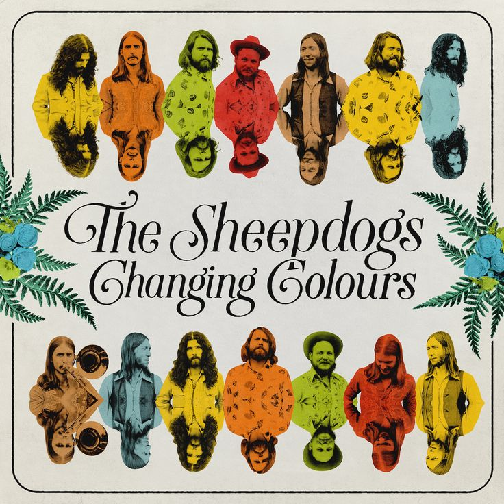 The Sheepdogs Prepare for Release of 'Changing Colours' - Dine Alone Records