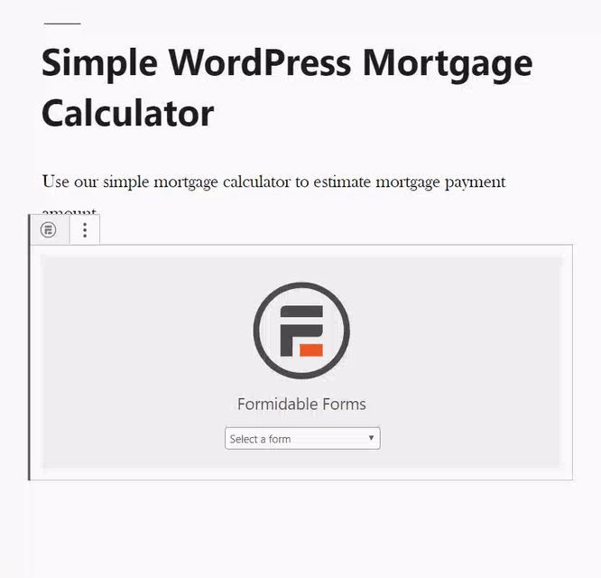 How To Add A Mortgage Calculator In Wordpress Step By Step Check More At Www L How To Calculate Mortga Online Mortgage Mortgage Payment Mortgage Calculator