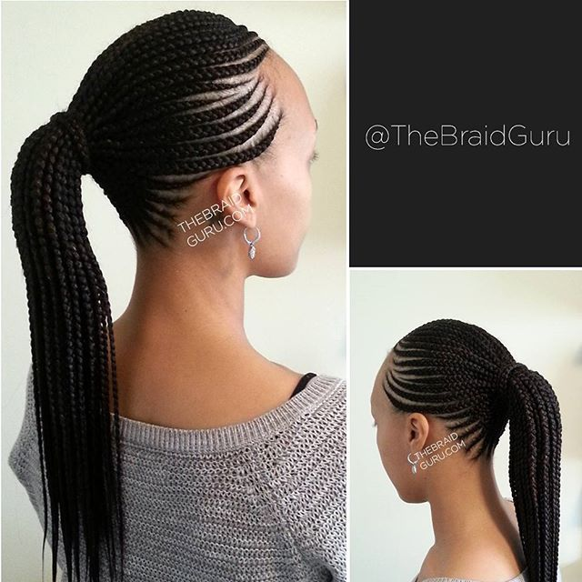 Awesome 1000 Ideas About Black Braided Hairstyles On Pinterest Hairstyles For Women Draintrainus