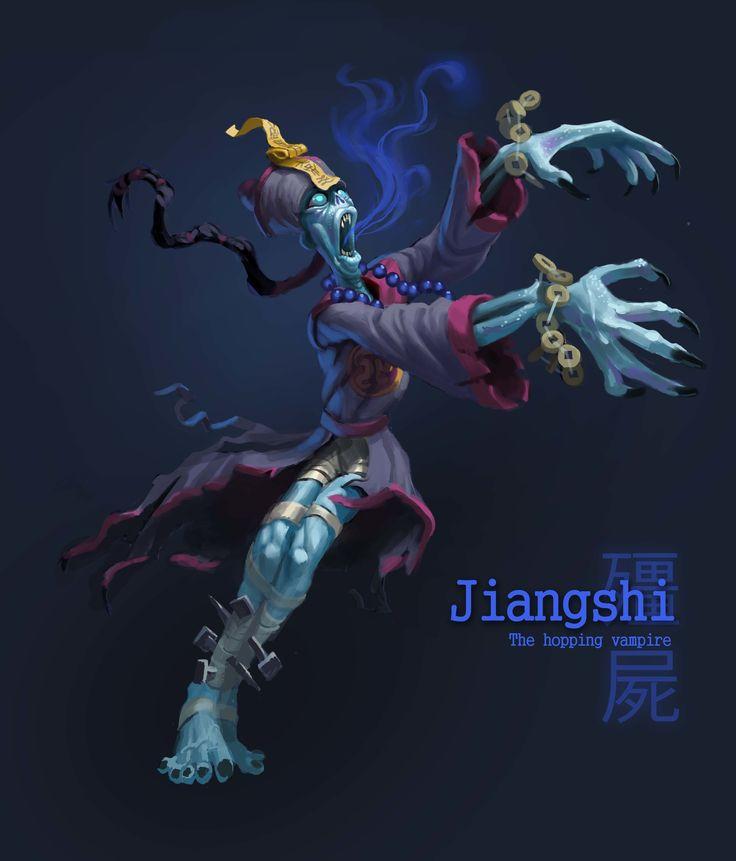 ArtStation - Jiangshi, Ishmael Hoover