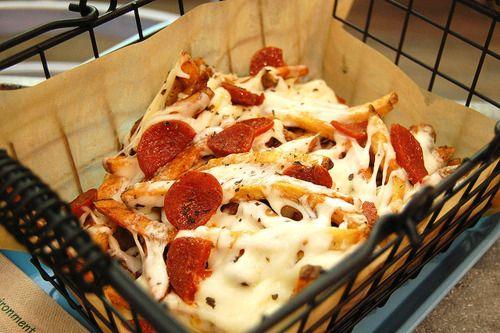Puh puh puh pizza fr fr fr fries