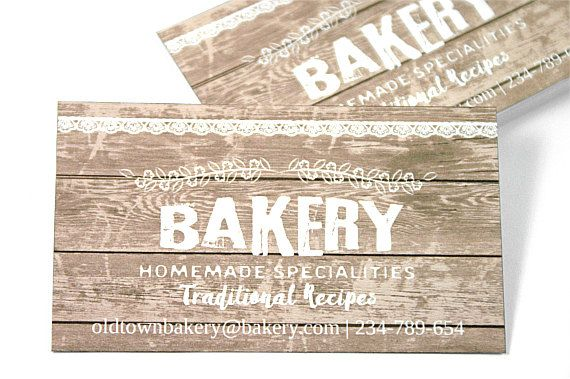 Business Cards  Kraft Business Cards  Rustic by TrocaderoKraft