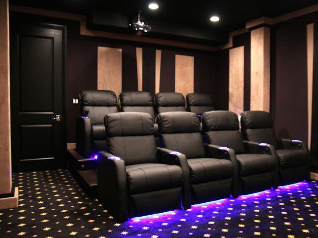 17 best ideas about home theater seating on pinterest. Black Bedroom Furniture Sets. Home Design Ideas