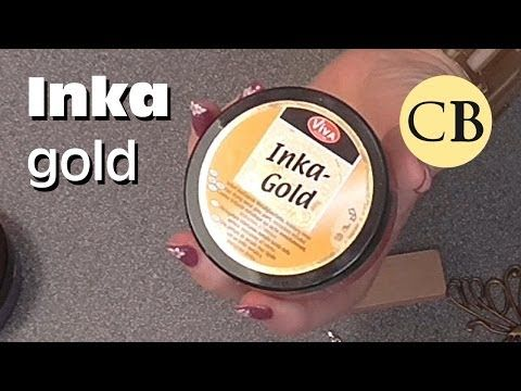 Viva Decor Inka Gold Techniques Tips  Tricks Tutorial
