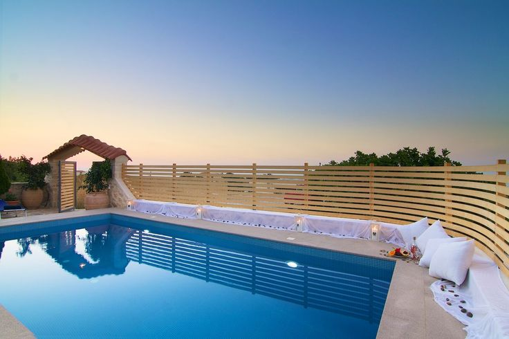 In #Villa #Elena, located in a picturesque #village near #Rethymno, you'll love the amazing #sea, #sunset and #countryside #views from the #pool, the beautiful #outdoor sitting and dining areas, the BBQ and the #luxurious and #comfortable interiors! A #wonderful #villa for a memorable #holiday in #Crete!
