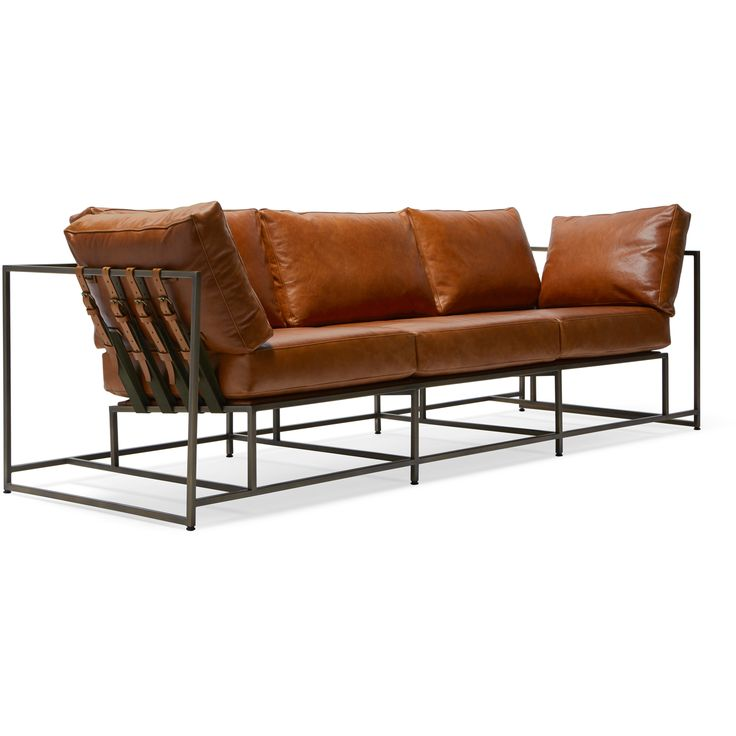 Sofa Slipcovers Encounter Leather Sofa Brown Leather u Antique Brass