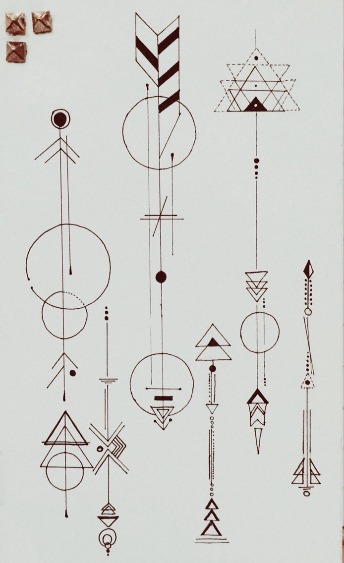 Ink art arrows inspired by Dr.Woo. Artist: Anam Patel #doodle #blackandwhite #detail #design