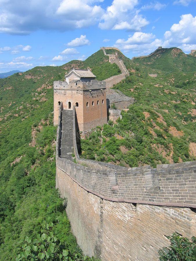 On The Great Wall Of China China Spon Great Wall China