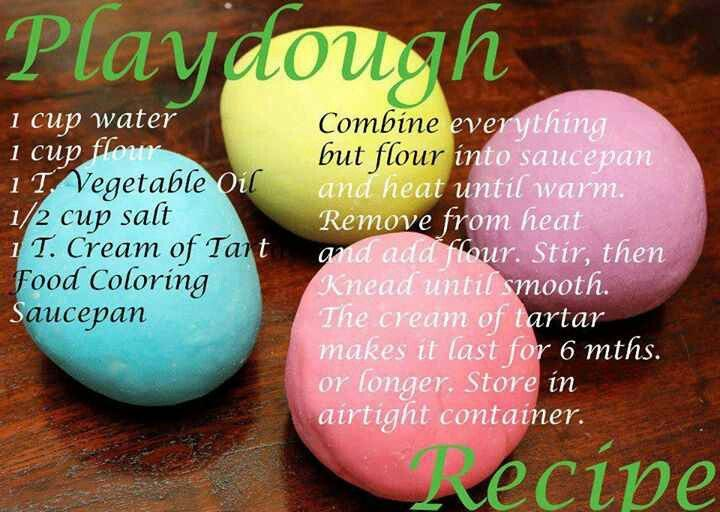 how to make soft playdough without cream of tartar