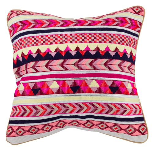 Gorgeous Mosaic style cushion. So many different shades of pink, brightening up and corner of the home our outdoor area. Perfect additive for your home décor, as a single cushion with a few plain designs Or with similar options from our Moroccan Collection. $42.25 Measurements; 45x45x10 cm