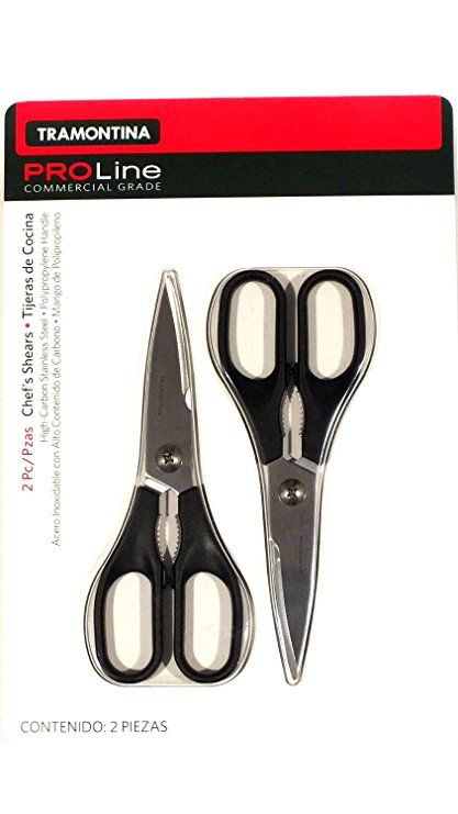 Tramontina Proline 2 Piece Stainless Steel Chef S Shears Review Scissors Kitchen Knives Cutlery