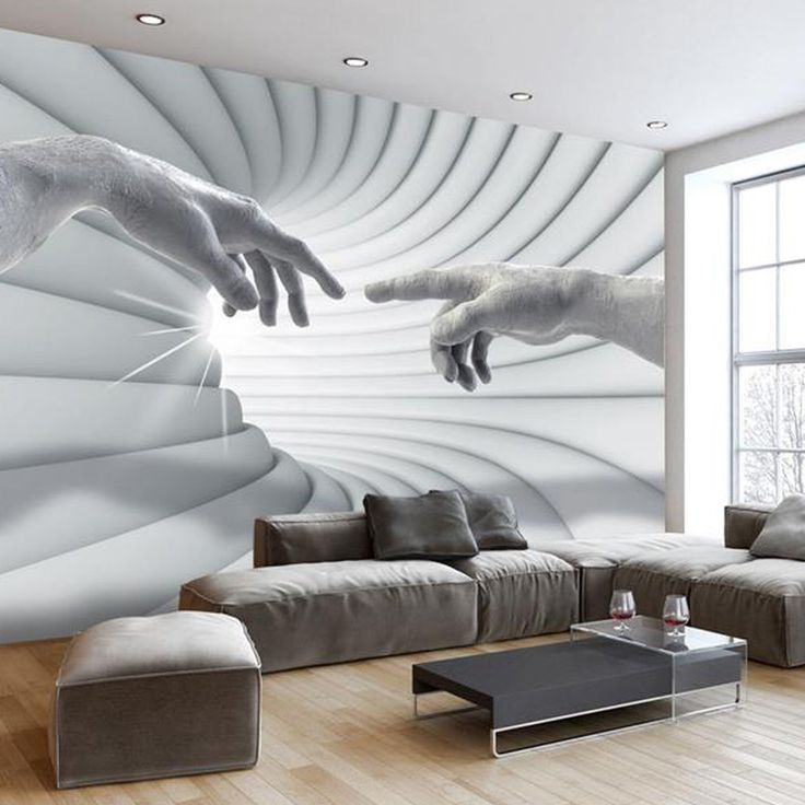 3D temporary wallpaper. 3d wallpaper mural, removable wallpaper. Perspective wall art living room bedroom, wallpaper office. Large mural 3D