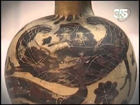 Расписные вазы Древней Греции.