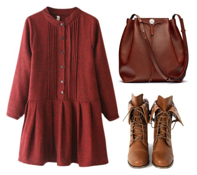 """###"" by aneane111 on Polyvore featuring Chicnova Fashion, Wild Diva, The Row and autumnstyle"